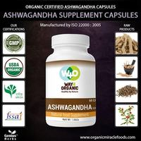 The Premium Quality Ashwagandha Capsules in Wholsale Price For Export