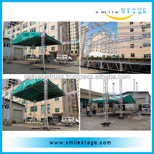 Aluminum Roof Round Truss with Canvas