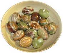 MULTI GREEN ONYX EGGS HANDICRAFTS