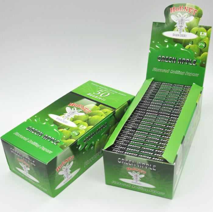Fruit Flavored Rolling Papers Slow Burning Highly Durable Unbleached Virgin Paper