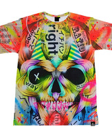 Monster Face Sublimation Printing T Shirt digital sublimation 3D T Shirt