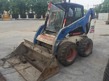 Used bobcat skid steer loader S185 for sale,Secondhand bobcat S130/S150/S250 skid loader