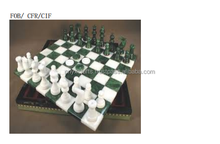Wholesale Marble Chess Set with figure Borderless
