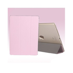 USAMS Slim Tri-fold Stand Smart Leather Cover for iPad Pro 12.9 inch - Pink