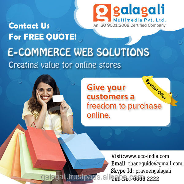 Online shopping and eCommerce Website Design and Development with Web Hosting and Domain Registration