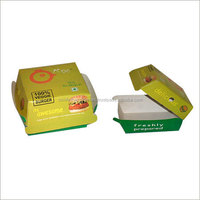 custom printed paper packaging for burgers, for fast food chains, burger restaraunts