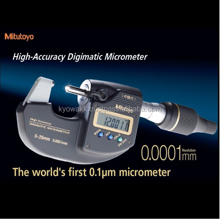 Various kinds of digital micrometer screw gauge price for measuring thickness