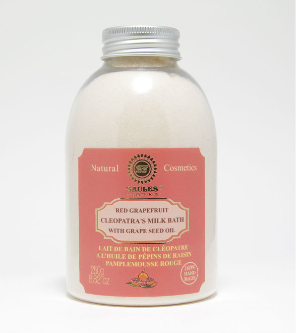 Grapefruit Dried Milk for Bath