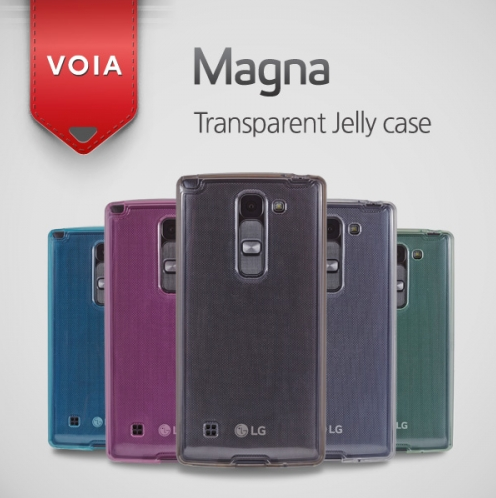 VOIA for LG CY90 Magna Transparent Jelly Case