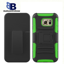 Three-in-one robot armor mobile phone shell for Samsung a8 bracket slip sleeve back clip waist hanging shell