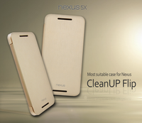 VOIA for LG Nexus 5X CleanUP Flip Cover