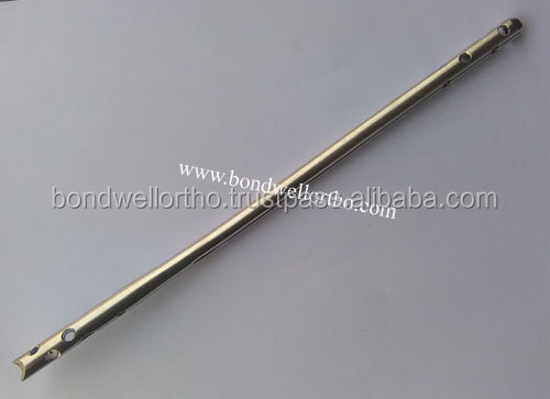 Orthopedic Implants Stainless Steel Expert Tibial Nail Fracture Healing Implants