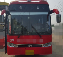 2005Y Daewoo USED Luxury Bus For Sale BX212 from Korean