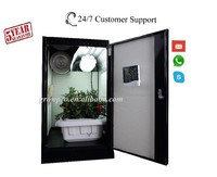 Hydroponic gardening system greenhouse cabinet grow box cash crop