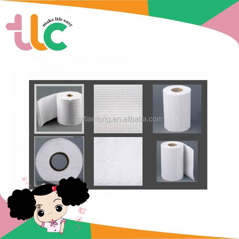 Soft Touch Rolls Package White Toilet Tissue Paper House Hygienic Products