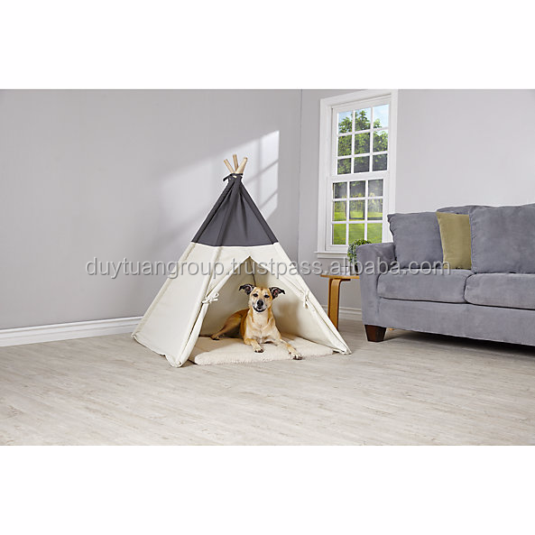 Indoor pet teepee tent