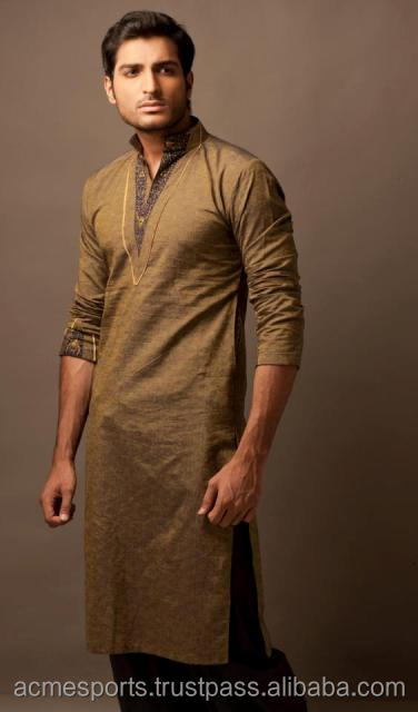 mens kurta - kurta shalwae -Royal Blue Kurta Shalwar Designs for Men with embroidery - MENS SHALWAR KAMEEZ JAMAWAR