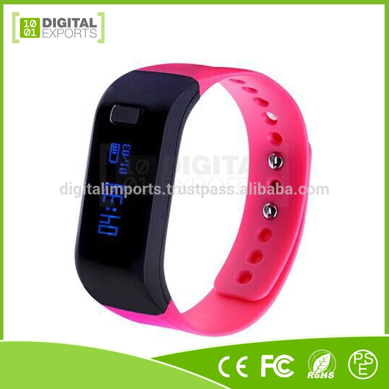 Customized bluetooth activity tracker/ multifunctional smart bracelet/ smart health watch