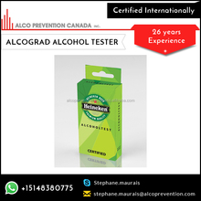 Best Selling Disposable Breathalyser for Preventing Road Accidents