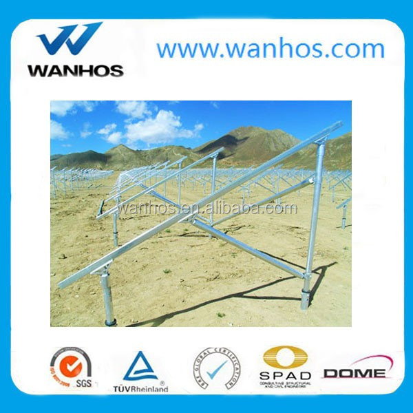 Ground Screw Anchor For Solar Panel Mounting System