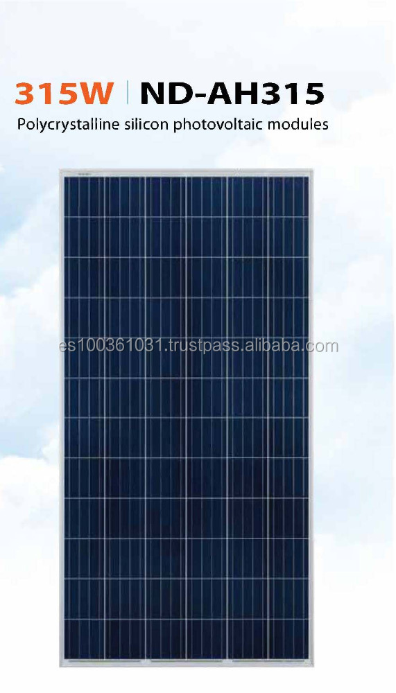 315w poly 72 cells Sharp Solar photovoltaic panel