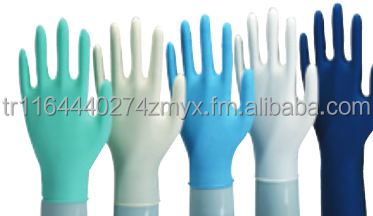 Nitrile / Latex Examination Gloves / powdered and poweder-free