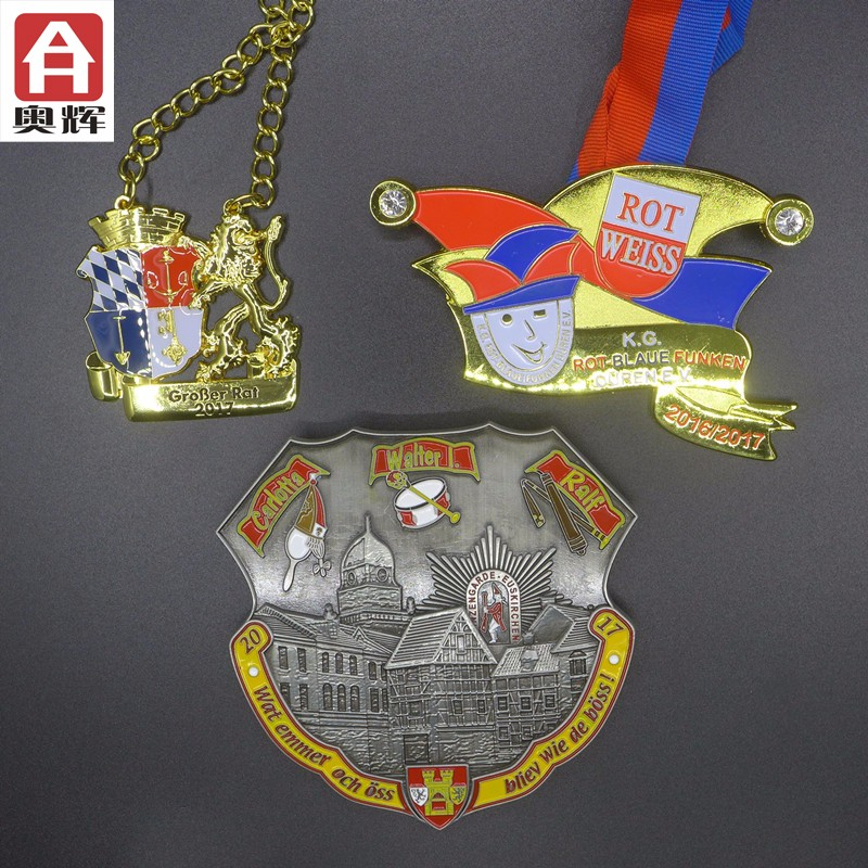 Good quality customer design Gold Cheap Medal factory