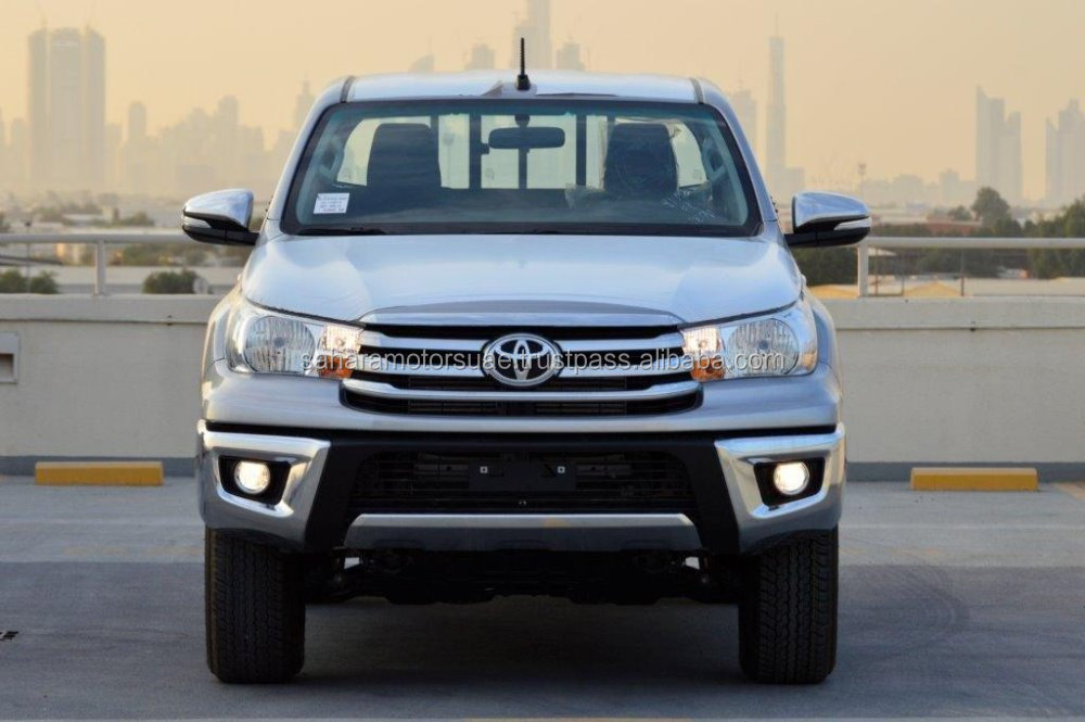 2017 Model Toyota Hilux Double Cabin Pickup 2.4L 4X4 Automatic