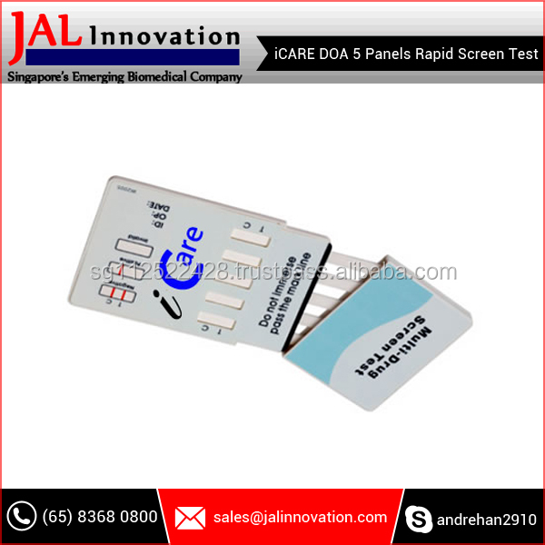 Wholesale Manufacture 5 Panel Drug Rapid Screen Tests at Low Range