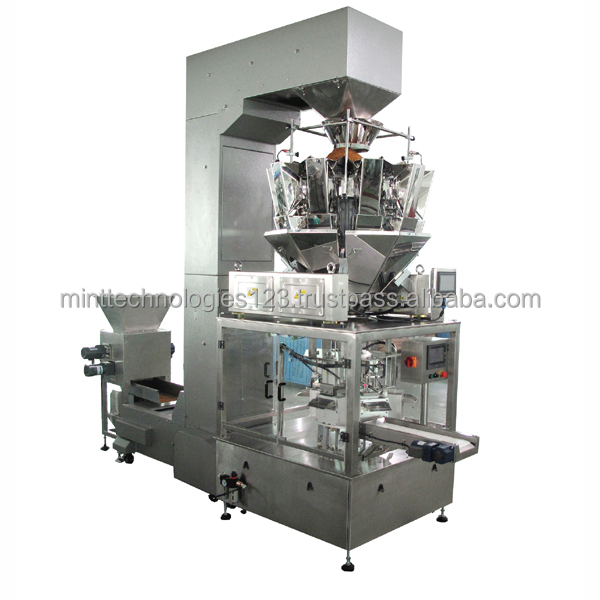 Mint Shisha Tobacco Pouch Packaging Machine/Plastic Pouch Packing Machine/Small Tobacco Packing Plant