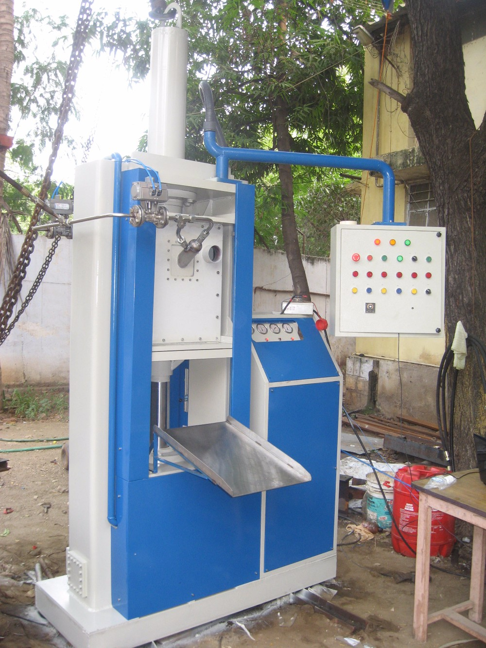 Dry Ice Block Manufacturing machine