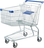 Metal Shopping Trolley Carts For Supermarket