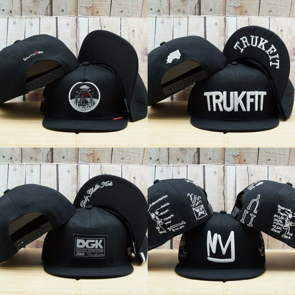 Customize your own snapback hat with embroidery design / Puff embroidery cap