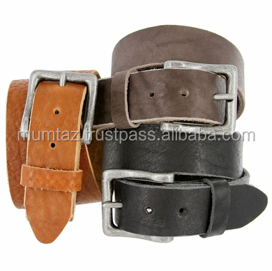 Black Fashion Mens Genuine Spanish Full Grain Cowhide Leather Belt/Black Fashion Mens Genuine Spanish Full Grain Cowhide Leather