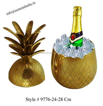 Brass Pineapple Wine Cooler