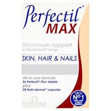 Vitabiotics Perfectil Max Maximum Support Skin, Hair and Nails - 84 Tablets/Capsules