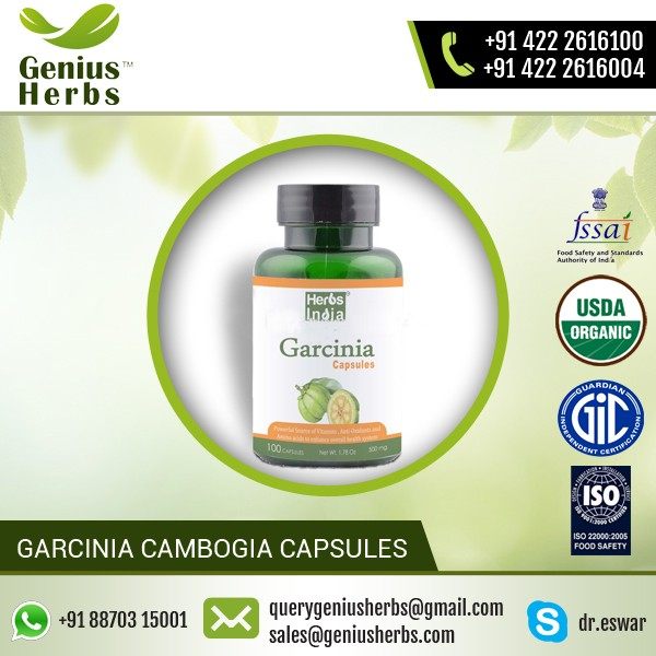 Organic and Belly Fat Cutter Garcinia Cambogia Capsule