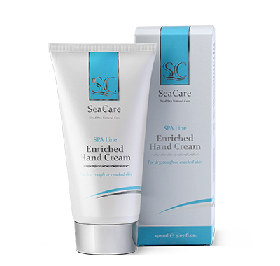 SeaCare Dead Sea Enriched Hand Cream with Shea Butter, Olive Oil and Aloe Vera Extract