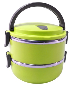 Two Layer Stainless Steel Tifffin Lunch Box