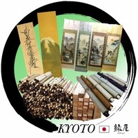"Wholesale hand made calligraphy Hanging scroll picture ""Kakejiku"" for wall decoration"