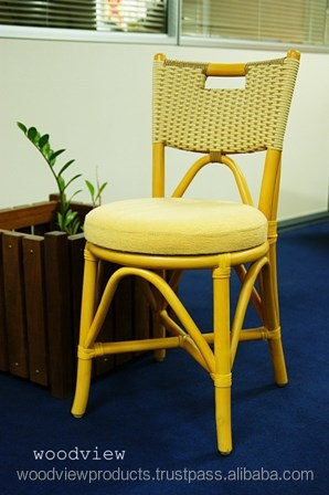 WV150423 RATTAN DINING CHAIR