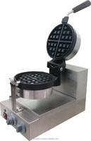 ELECTRIC BELGIUM WAFFLE MACHINE 1-HEAD ROTATE