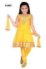 Kids salwar kameez churidar designs for 15usd with extra long sleeves included