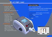 Portable IPL laser for hair removal