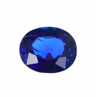 Burma Royal Blue Sapphire Oval Cut 1.06 carat natural untreated unheated