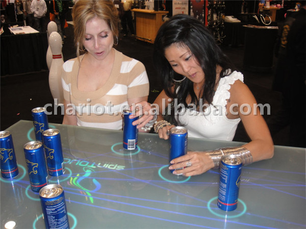 Interactive bar table for entertainment