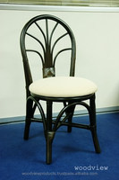 WV150417 RATTAN DINING CHAIR