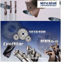 Solid carbide drilling tools by Mitsubishi material tools show you amazingly effective saving time to finishing your work