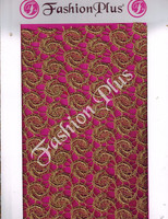Latest Design Indian Chiku Zari Fabrics All Over
