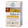 Organic India Tulsi Sweet Lemon Herbal Flavored Tea